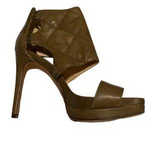 New Nine West open toe platform heels